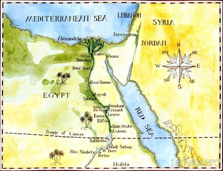Карта храмов. Дэвид Робертс