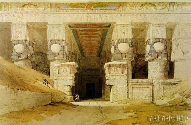 Дендера, храм Хатхор.
