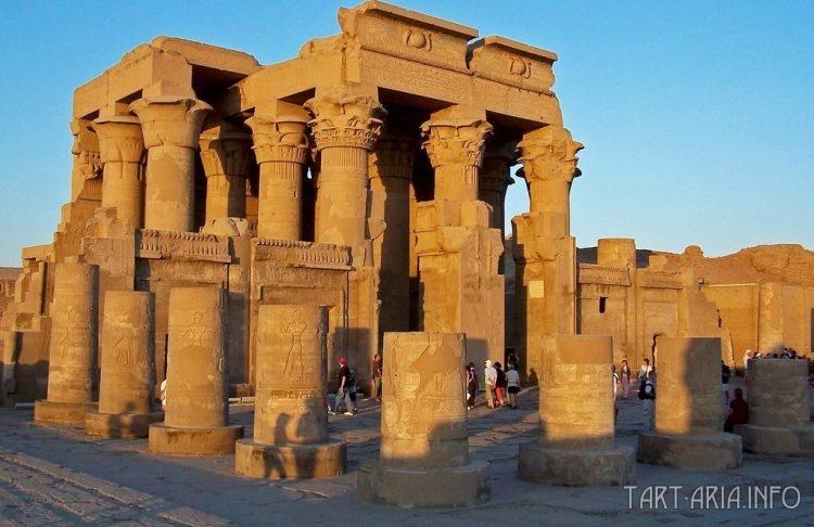 Ком-Омбо, храм наши дни