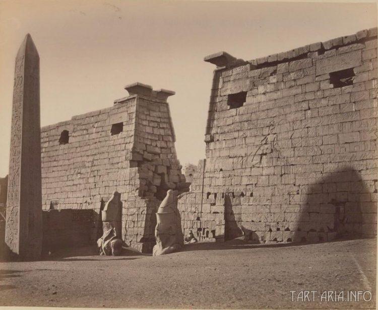 Луксор. Большие ворота 1852 г.