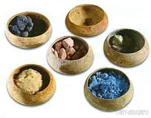 Набор минералов для красок