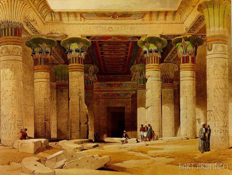 Великий портик храма Филе Нумибия