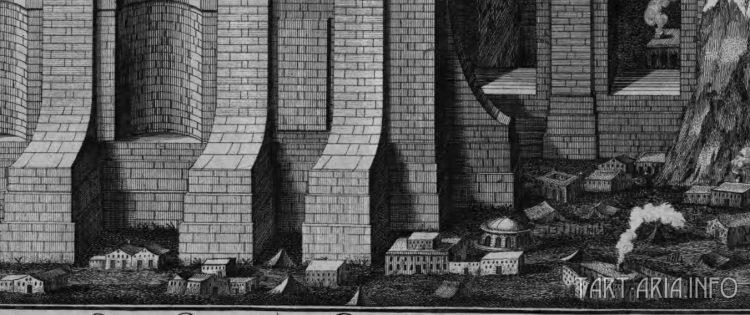Фрагмент иллюстрации вида храма Соломона.