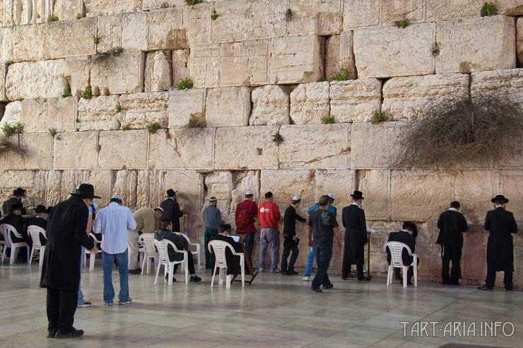 Стена Плача, источник