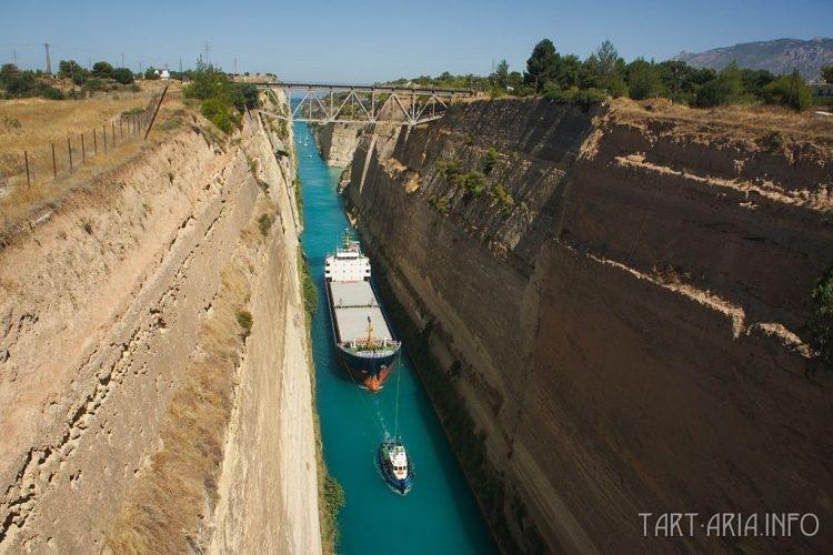 Коринфский канал Источник