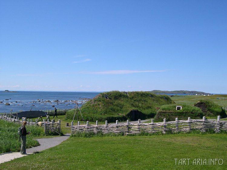 Колония викингов в Л'Анс-о-Медоуз, Ньюфаундленд (реконструкция), источник