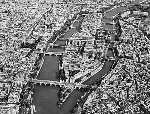 Париж остров Сите