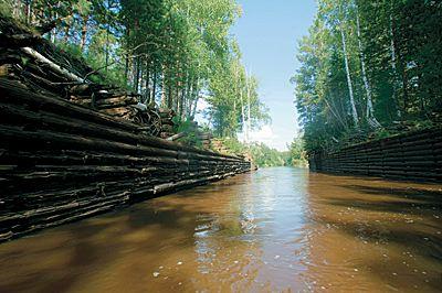 Der Ob-Jenissej-Kanal. Ein Wasserweg Groß-Tartariens sibved